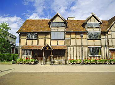 Shakespeare's birthplace, Stratford-upon-Avon, Warwickshire, England, UK, Europe
