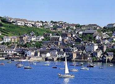 Fowey Harbour, Cornwall, England, United Kingdom, Europe