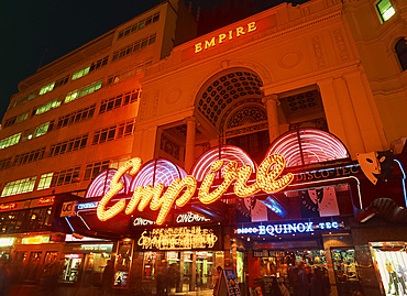 The Empire multi screen cinema, Leicester Square, London, England, United Kingdom, Europe