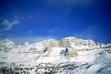 Madonna di Campiglio, in the Dolomites, during winter, Trentino Alto Adige, Italy, Europe