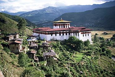 Rimpong Dzong (monastery), Paro, Bhutan, Asia