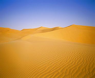 Sand dunes of the Grand Erg Occidental, Sahara Desert, Algeria