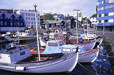 Harbour, Torshavn, Faroe Islands, Denmark, Europe