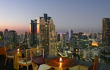 View of Bangkok, Thailand, Southeast Asia, Asia