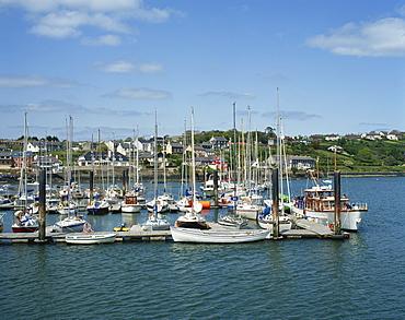 Kinsale Harbour, County Cork, Munster, Republic of Ireland, Europe