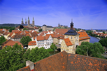 Bamberg, UNESCO World Heritage Site, Bavaria, Germany, Europe