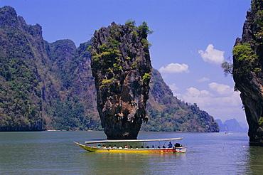Ao Phang-Nga (James Bond island), Phang-Nga Province, Thailand, Asia