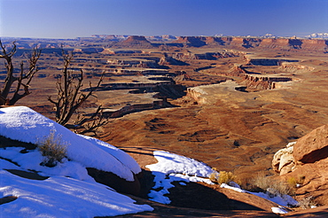 Green River overlook, Island in the Sky, Canyonlands National Park, Utah, USA, North America