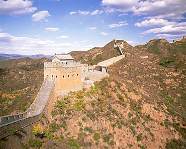 Jinshanling section of the Great Wall of China, UNESCO World Heritage Site, near Beijing, China, Asia