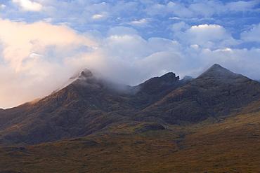 Cuillin Hills, Isle of Skye, Inner Hebrides, west coast, Scotland, United Kingdom, Europe