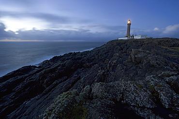 Ardnamurchan Lighthouse, at the westernmost point of the British mainland, west coast, Scotland, United Kingdom, Europe