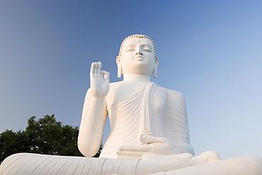 Great seated figure of the Buddha, Mihintale, Sri Lanka, Asia