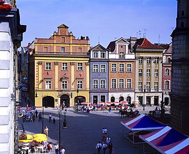 Town Square, Poznan, Poland, Europe