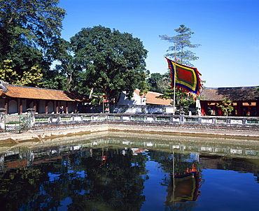Temple of Literature, Hanoi, Vietnam, Indochina, Southeast Asia, Asia