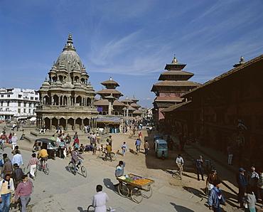 Durbar Square, Patan, near Kathmandu, Nepal, Asia