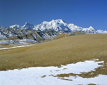 Mount Shishaoangma, 8038m, Tibet, China, Asia