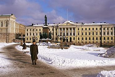 Winter, Helsinki, Finland, Scandinavia, Europe