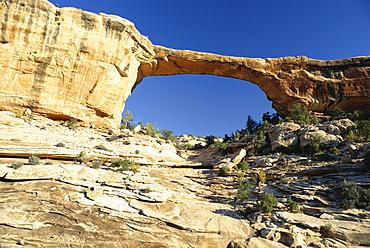 Owachomo Bridge, Natural Bridges National Monument, Utah, United States of America (U.S.A.), North America