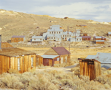 Gold Mining Ghost Town of Bodie, Bodie State Historic Park, California, USA