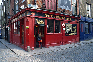 The Temple Bar, Dublin, County Dublin, Republic of Ireland, Europe
