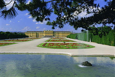 Schonbrunn Palace, UNESCO World Heritage Site, Vienna, Austria, Europe