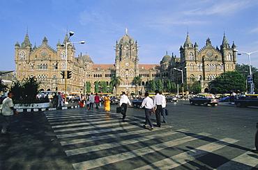 Victoria Railway Station (Victoria Terminus), Mumbai (Bombay), Maharashtra State, India, Asia
