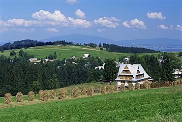 Landscape near Zakopane, Tatra Mountains, Poland, Europe