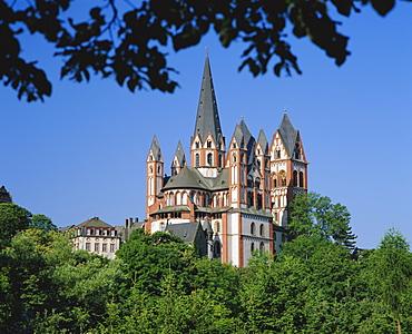 Limburg cathedral, Rhineland Palatinate, Hessen, Germany, Europe