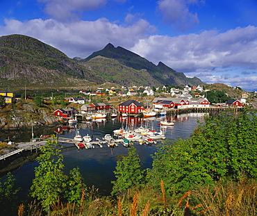 Sorvagen Village, Lofoten Islands, Norway