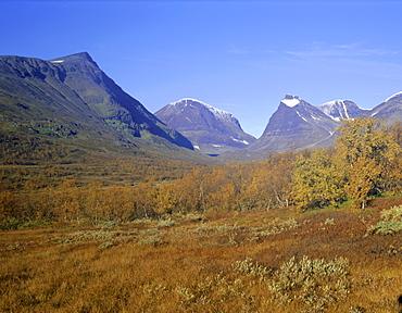 Mount Kebnekaise, Sweden's highest mountain, Laponia, Lappland, Lappland, Sweden, Scandinavia