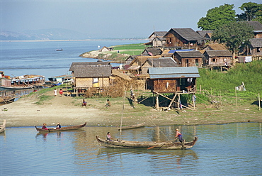 The Ayeyarwady River, Mandalay, Myanmar (Burma), Asia