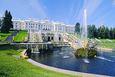 Summer Palace at Petrodvorets, St. Petersburg, Russia