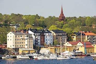Djurgarden dsitrict of central Stockholm, Sweden, Scandinavia, Europe