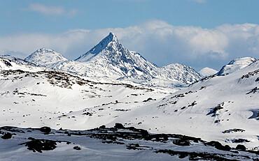 Sognefjell mountains, above Skjolden, Norway, Scandinavia, Europe