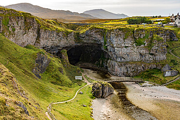 Smoo Cave, Durness, N W Scotland