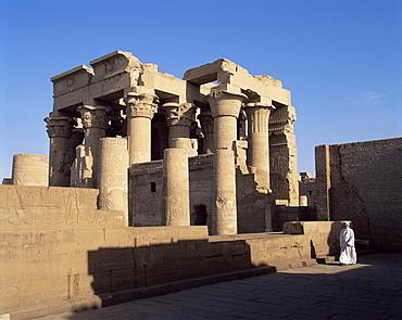 Temple of Haroeris and Sobek, Kom Ombo, Egypt, North Africa, Africa