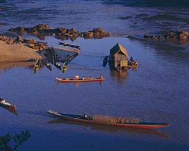 Meking River at Pakbeng, Laos, Indochina, Asia