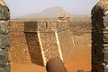 Sao Filipe fort, Cidade Velha, Santiago, Cape Verde Islands, Africa