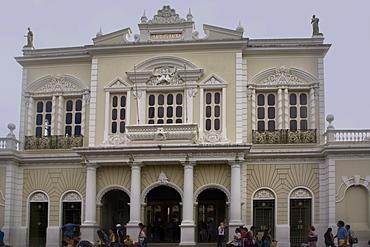 Jose Alencar theatre, Fortaleza, Ceara, Brazil, South America