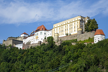 Veste Oberhaus Fortress, Passau, Lower Bavaria, Germany, Europe