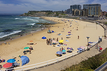 Newcastle beach, Newcastle, New South Wales, Australia, Pacific