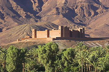 Kasbah, Draa Valley, Ouarzazate, Morocco, North Africa, Africa