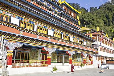 Druk Sangag Choeling Monastery (Dali Monastery), Darjeeling, West Bengal, India, Asia