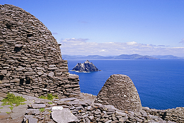Early Christian site, Skellig Michael, County Kerry, Munster, Republic of Ireland (Eire), Europe
