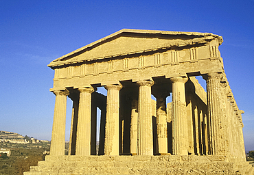 Temple of Concord at Agrigento, Sicily, Italy *** Local Caption ***