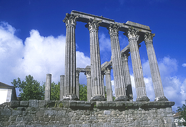 Temple of Diana, Evora, Alentejo, Portugal *** Local Caption ***