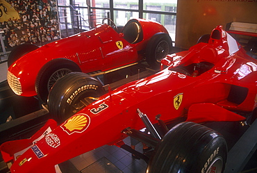 Ferrari Museum, Maranello, Emilia-Romagna, Italy *** Local Caption ***
