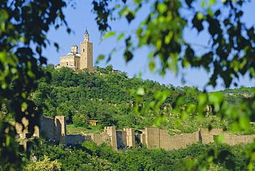 The Citadel, 14th c Bulgar capital, Velike Turnove, Bulgaria