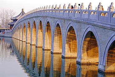 Seventeen Arch Bridge, Kumming Lake, Summer Palace, Beijing, China