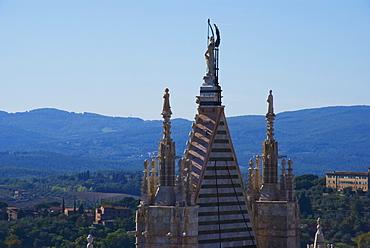 Spire, Sienna, Tuscany, Italy, Europe